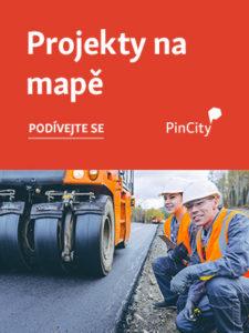 Projekty na mapě